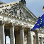 Reichstag mit Europafahne