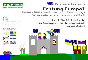 Festung Europa? - Fishbowl Darmstadt zur Europawahl