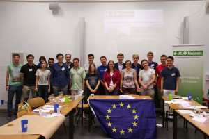 Planspiel zur EU-Asyl- und Migrationspolitik am 19. Juli 2015 in Darmstadt