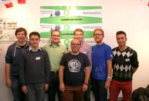 Die hessische JEF-Delegation beim JEF Bundeskongress 2015 in Berlin