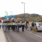 Radfahrer überholen unser kleines Grenzschließungs-Experiment