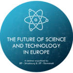 "Logo ""Space Exploration, Industry 4.0, Gene-Editing: How to address the challenges of Europe's Future?"""