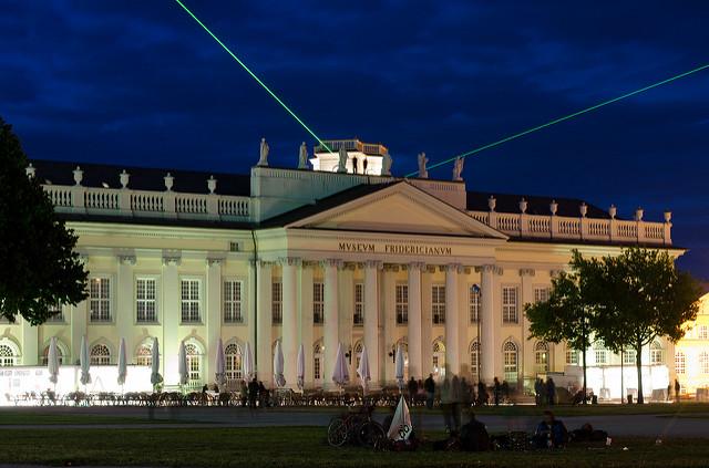 Das Museum Fridericianum in Kassel