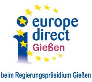Logo des Europe-Direct-Informationszentrums Gießen beim Regierungspräsidium Gießen