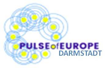 Logo Pulse of Europe Darmstadt