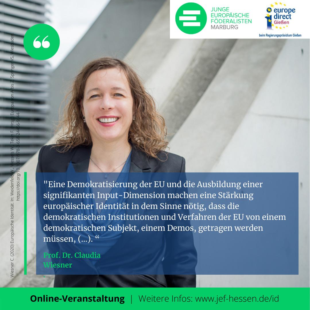 Zitat von Prof. Dr. Claudia Wiesner