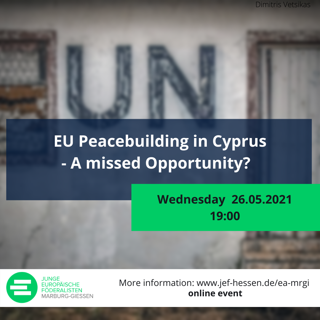 EU Peacebuilding in Cyprus – A missed Opportunity?