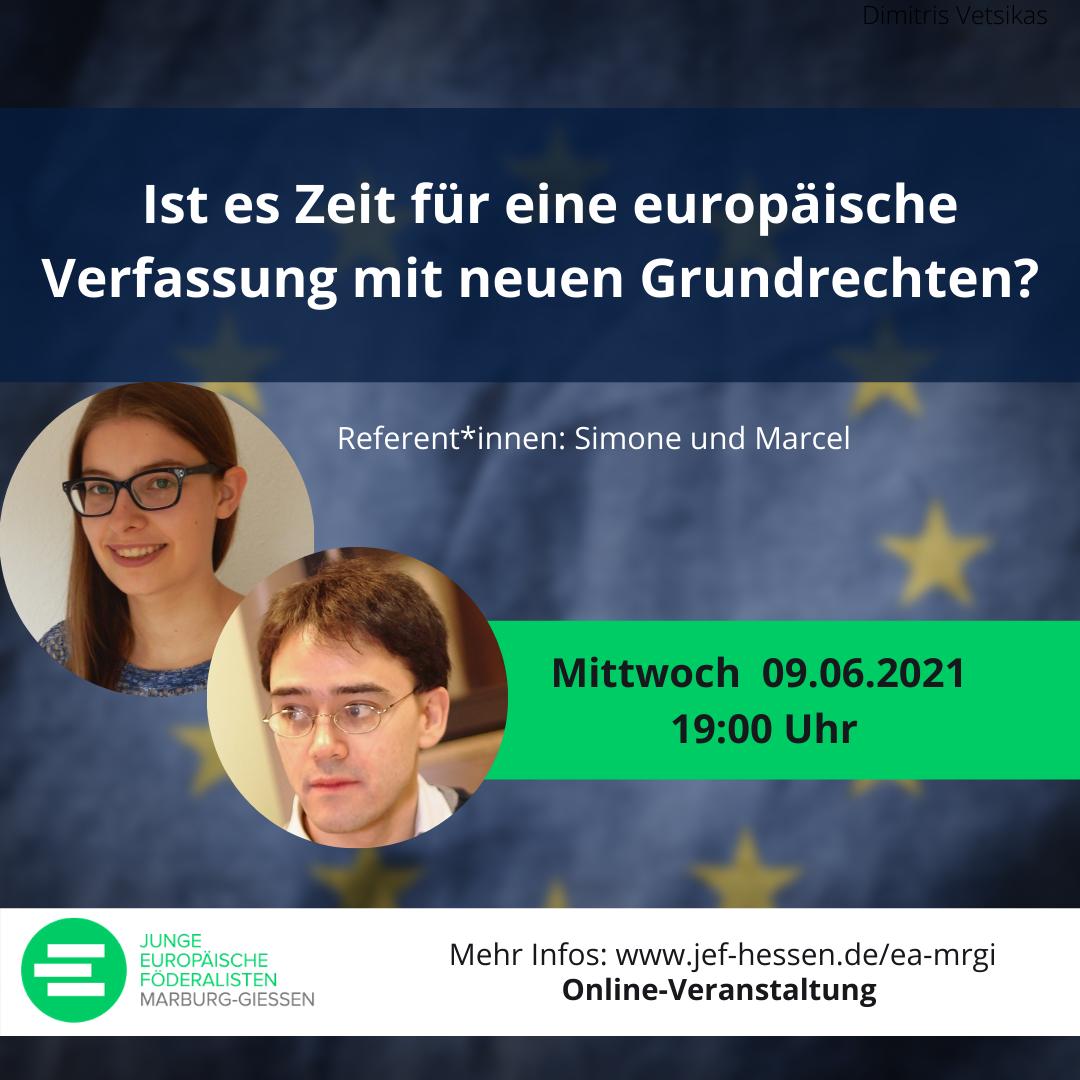 Ist es Zeit für eine europäische Verfassung mit neuen Grundrechten?