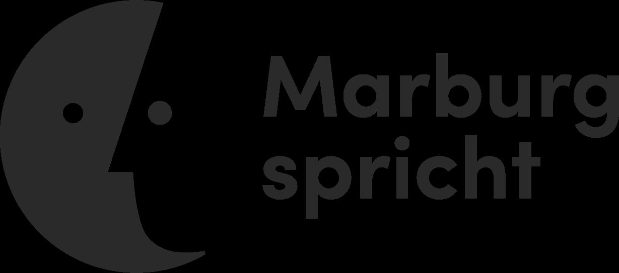 Logo Marburg spricht