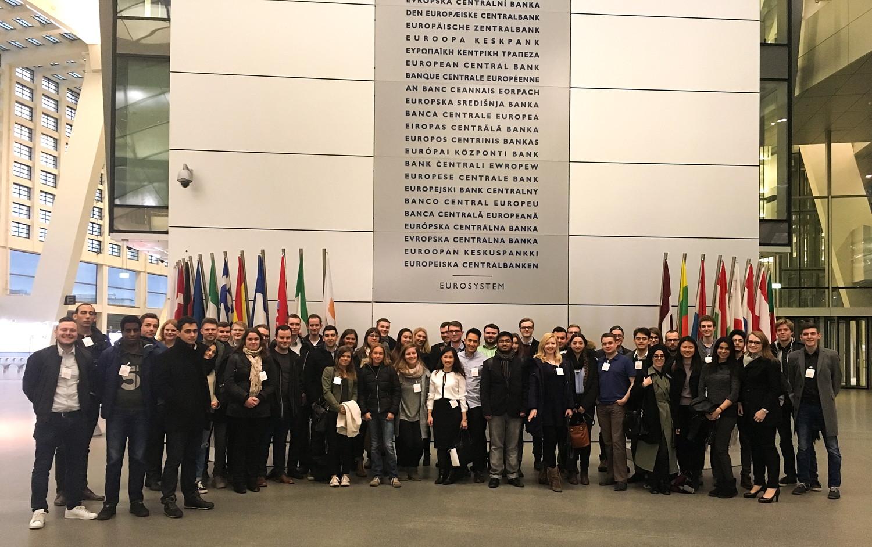 Besuch der Europäischen Zentralbank | 22. Februar 2017